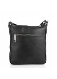 Мужская черная кожаная сумка на плечо Tarwa GA-1303-4lx