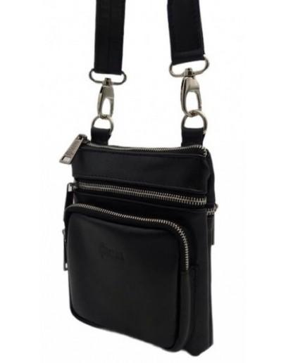 Фотография Мужская сумка на плечо небольшая кожаная Tarwa GA-1342-4lxx2