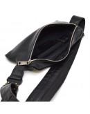Фотография Мужская кожаная сумка на пояс и на грудь Tarwa GA-1818-4lx