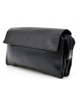 Черный кожаный мужской клатч Tarwa GA-2801-3md