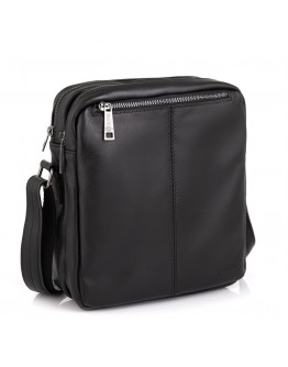 Черная кожаная сумка на плечо Tarwa GA-60121-34lx