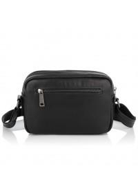 Черная мужская кожаная сумка на плечо Tarwa GA-60125-3md