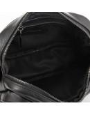 Фотография Черная мужская кожаная сумка на плечо Tarwa GA-60125-3md