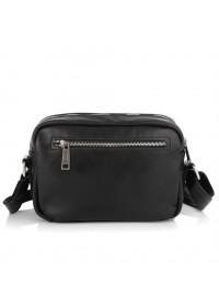Черная мужская кожаная сумка на плечо Tarwa GA-60125-4lx