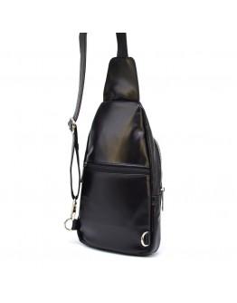 Рюкзак на одно плечо черный Tarwa GA-6101-3md