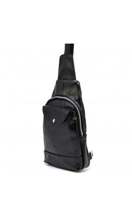 Мужской рюкзак черный на одно плечо Tarwa GA-6103-3md