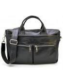 Фотография Мужская кожаная сумка для ноутбука и документов Tarwa GA-7122-4lx