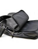 Фотография Рюкзак кожаный мужской черный Tarwa GA-7280-3md