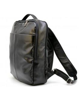 Рюкзак кожаный мужской черный Tarwa GA-7280-3md