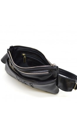 Мужская сумка на пояс черная Tarwa GA-8034-4lx
