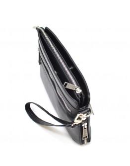 Вместительная черная мужская барсетка - клатч Tarwa GA-8188-4lx