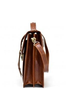 Коричневая мужская барсетка среднего формата TARWA GB-1424-4lx