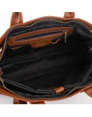 Фотография Кожаная коричневая сумка для докуметов Tarwa GB-7107-3md