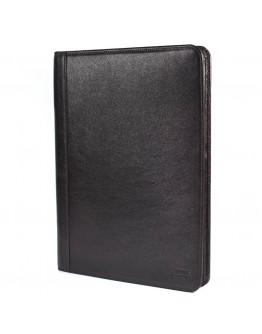 Кожаная коричневая папка для документов А4 с органайзерами TARWA GC-1294-4lx