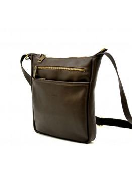 Коричневая кожаная сумка через плечо Tarwa GC-1300-3md
