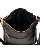 Фотография Коричневая кожаная сумка через плечо Tarwa GC-1300-3md