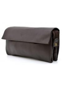 Коричневый кожаный мужской клатч Tarwa GC-2801-3md