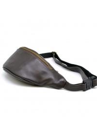 Коричневая мужская сумка на пояс Tarwa GC-3035-3md