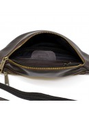 Фотография Коричневая мужская сумка на пояс Tarwa GC-3035-3md