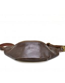 Большая коричневая сумка на пояс Tarwa GC-3036-4lx