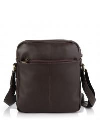 Коричневая мужская кожаная сумка на плечо Tarwa GC-60122-3md