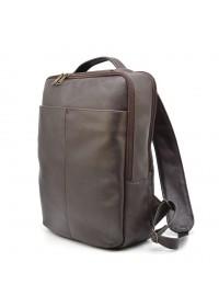Рюкзак кожаный мужской коричневый Tarwa GC-7280-3md