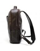 Фотография Рюкзак кожаный мужской коричневый Tarwa GC-7280-3md