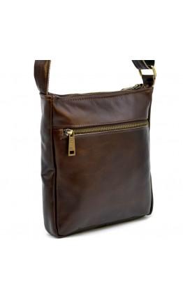 Коричневая сумка на плечо из натуральной кожи Tarwa GCa-1300-3md