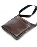 Фотография Коричневая сумка на плечо из натуральной кожи Tarwa GCa-1300-3md