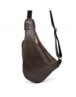 Мужской коричневый кожаный слинг Gcc-3026-3md