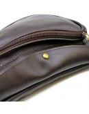 Фотография Мужской коричневый кожаный слинг Gcc-3026-3md