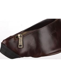 Коричневая мужская сумка на пояс Tarwa GQ-3034-3md