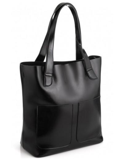 Фотография Женская кожаная сумка-шоппер Grays GR-0599-1A