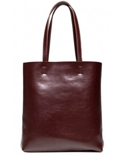 Фотография Женская кожаная удобная сумка GR-2002B