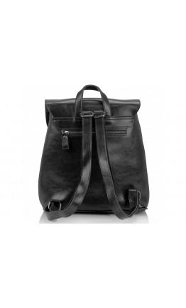 Черный женский кожаный рюкзак Grays GR-8251A