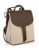 Фотография Женский кожаный небольшой рюкзак Grays GR3-1302BG-BP