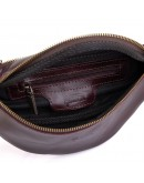 Фотография Коричневая кожаная мужская сумка на пояс Tarwa GX-3035-4lx