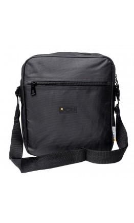 Вместительная черная сумка из нейлона JCB 20L Black