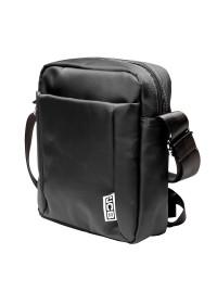 Мужская сумка из нейлона на плечо JCB B31 Black