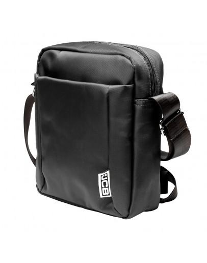 Фотография Мужская сумка из нейлона на плечо JCB B31 Black