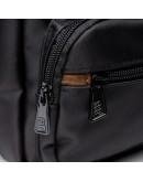 Фотография Сумка текстильная мужская черная JCB B32 Black
