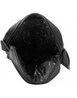 Текстильная фирменная мужская сумка на плечо JCB B33 Black