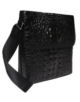 Кожаная мужская сумка с тиснением Keizer K1005-black