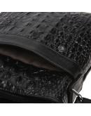Фотография Кожаная мужская сумка с тиснением Keizer K1005-black