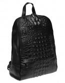 Фотография Кожаный женский рюкзак Keizer K111085-black