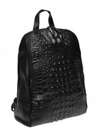 Кожаный женский рюкзак Keizer K111085-black