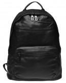 Фотография Черный кожаный рюкзак Keizer K111683-black