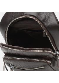 Коричневый мужской рюкзак Borsa Leather K1142-brown