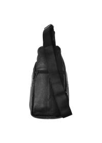 Мужская сумка на плечо - рюкзак Keizer K118-black