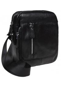 Черная кожаная мужская сумка Keizer K12051-black